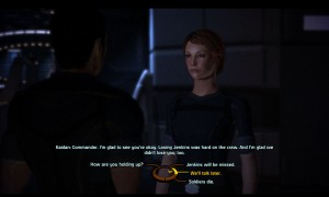 Mass Effect Dialogue Option