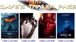 High Definition Movie Trailers
