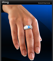 iPod, iMac, iPhone, and now iRing?