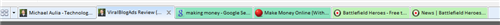 IE8 new Colorful Tabs