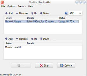 Shutter – More than just a Shutdown timer for your Windows