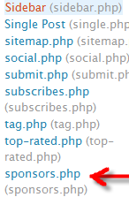 If you did it correctly, you should see the file on your theme files list