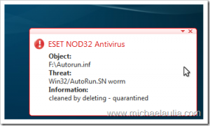 Thumbs up for ESET NOD32 version 4 public beta 1