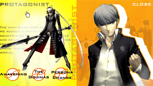 Persona Protagonist Protagonist And Persona
