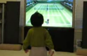 The world's youngest gamer?