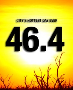 The hottest day in Melbourne's history *ugh*