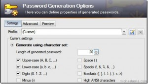 Store passwords easily and securely