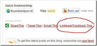 trackback post url