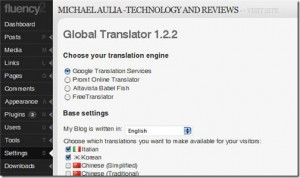 How to uninstall Global Translator Plug-in properly