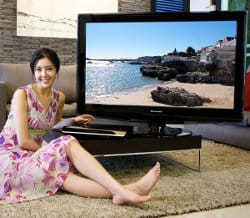 The World's first wireless LCD TV?
