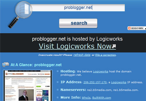 who hosts problogger
