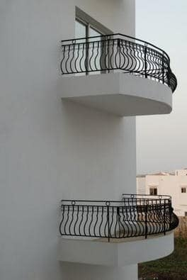 construction joke - balcony without a window