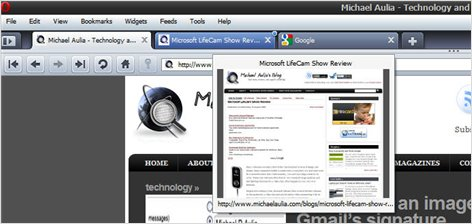 Opera 10 Thumbnail preview