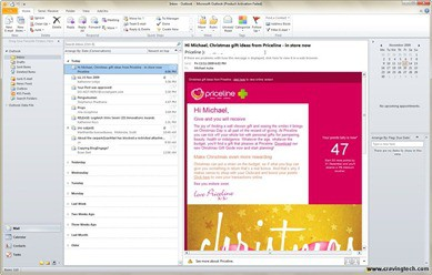 Microsoft Outlook 2010 Beta Screenshots