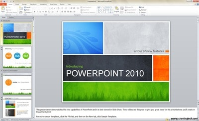 Microsoft PowerPoint 2010 Beta Screenshots
