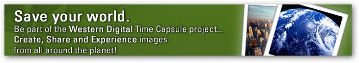 Western Digital Time Capsule Project