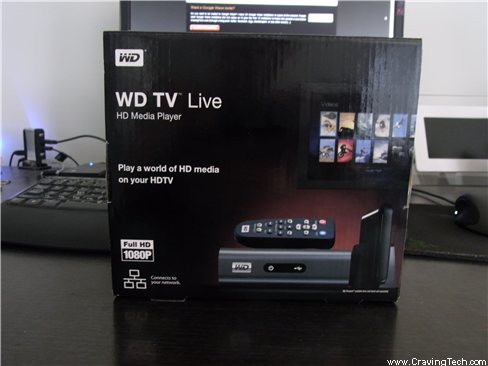 WD TV Live HD Packaging