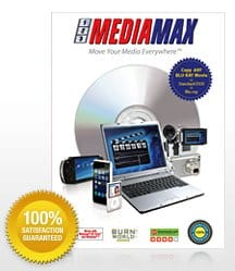Backup Blu-Ray discs with 123 Media Max