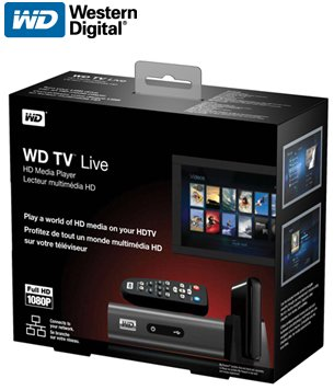 WD TV Live Packaging