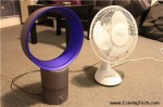 Dyson Air Multiplier vs Conventional fan