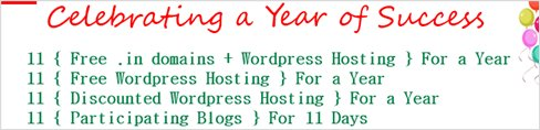 Free domain name and hosting account contest