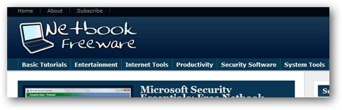 freeware for netbooks