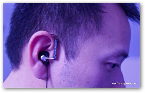 Creative Aurvana Air Review - Ear hook design