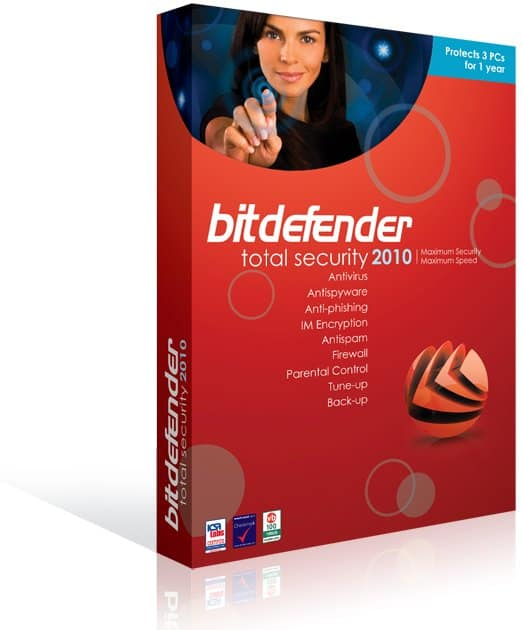 BitDefender Total Security 2010 box shot