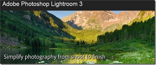 lightroom open in another application