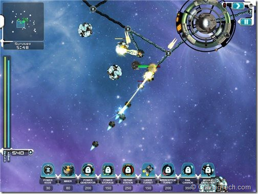 Space Station Frontier HD Review - combat
