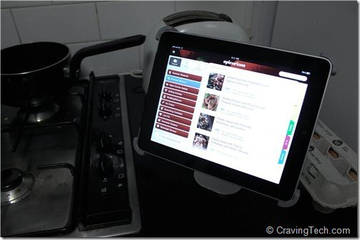 Titan iPad Stand Review -  Kitchen