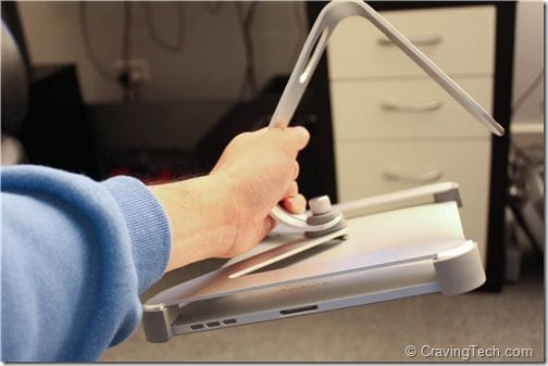 Titan iPad Stand Review - hold firm