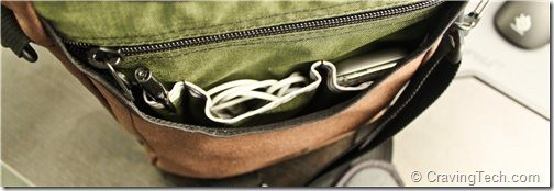Tom Bihn Ristretto - compartments