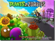 Plants vs Zombies Review - main screen