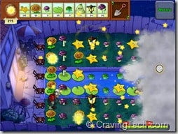 Plants vs Zombies Review - mission night