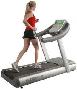 Playing games in a Treadmill? A winner!