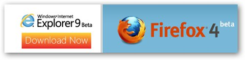 Firefox 4 and IE 9