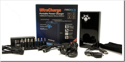PADACS UltraCharger - portable charger or power supply