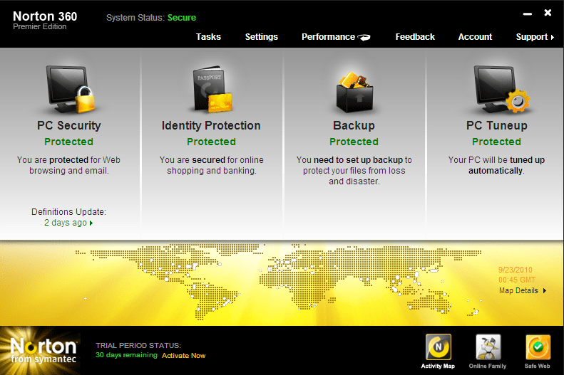 Download Norton 360 v5 beta
