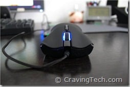 Razer Lachesis Review - front look