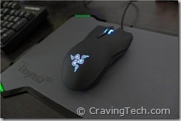 Razer Lachesis Review - raised palm