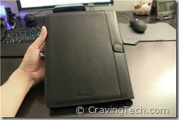 iPad Side case review - back