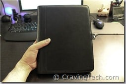 iPad Side case review - front