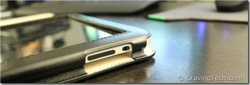 iPad Side case review - volume