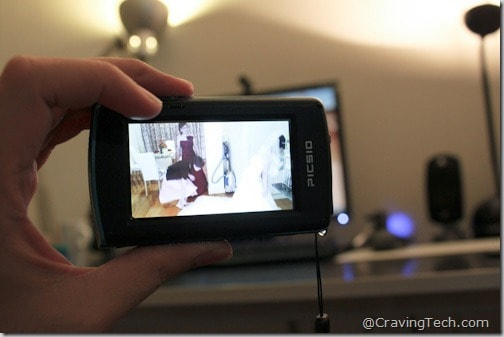 JVC Picsio Review - playback