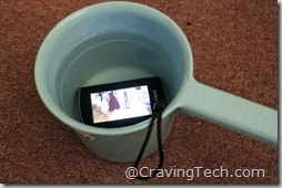 JVC Picsio Review - waterproof1