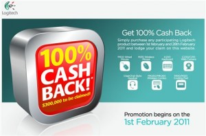 Buy a Logitech product and get a 100% Cashback!