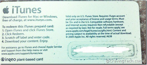 Itunes gift card giveaways