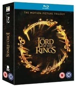 lord of the rings blu ray free shipping