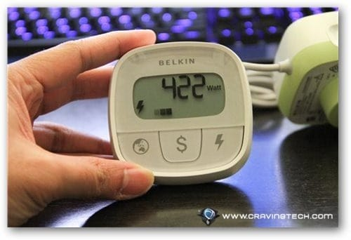 Belkin Conserve Insight Review - buttons